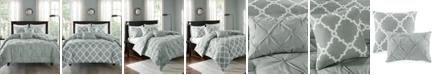Madison Park Kasey Reversible 5-Pc. Full/Queen Comforter Set