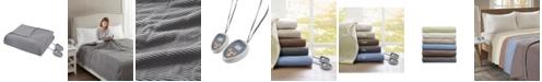 Beautyrest Knit Micro-Fleece Twin Electric Blanket