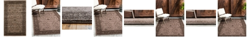 "Bridgeport Home Aldrose Ald4 Light Brown 3' 3"" x 5' 3"" Area Rug"