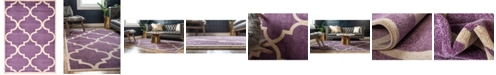 Bridgeport Home Arbor Arb3 Purple 7' x 10' Area Rug