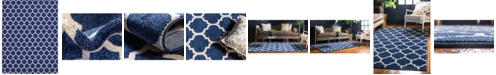 "Bridgeport Home Arbor Arb1 Dark Blue 12' 2"" x 16' Area Rug"