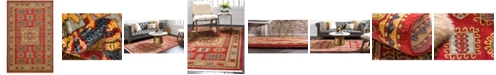"Bridgeport Home Harik Har6 Red 10' 6"" x 16' 5"" Area Rug"