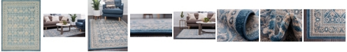 Bridgeport Home Bellmere Bel4 Light Blue 9' x 12' Area Rug