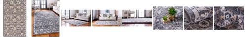 Bridgeport Home Wisdom Wis1 Gray 5' x 8' Area Rug