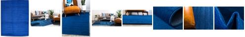 Bridgeport Home Axbridge Axb3 Navy Blue 10' x 13' Area Rug