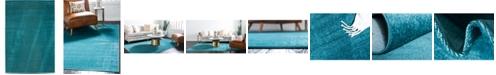 Bridgeport Home Axbridge Axb3 Teal 4' x 6' Area Rug