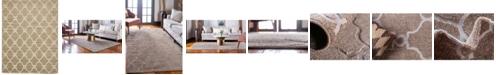 Bridgeport Home Pashio Pas2 Light Brown 9' x 12' Area Rug