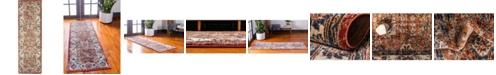 Bridgeport Home Shangri Shg2 Terracotta 2' x 6' Runner Area Rug