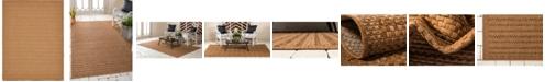 Bridgeport Home Pashio Pas6 Light Brown 9' x 12' Area Rug