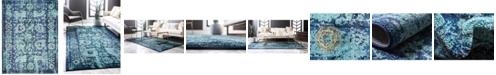 Bridgeport Home Sana San4 Turquoise 10' x 13' Area Rug