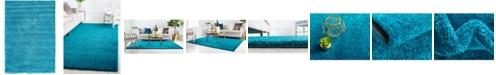 "Bridgeport Home Uno Uno1 Turquoise 5' x 7' 7"" Area Rug"