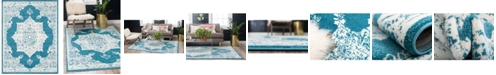 Bridgeport Home Mishti Mis6 Blue 8' x 10' Area Rug