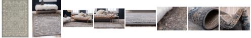 Bridgeport Home Bellmere Bel6 Gray 7' x 10' Area Rug
