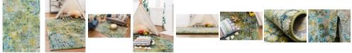 Bridgeport Home Crisanta Crs4 Green 9' x 12' Area Rug
