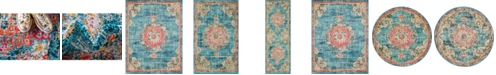Bridgeport Home Lorem Lor1 Turquoise Area Rug Collection
