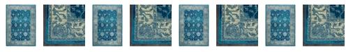Global Rug Designs Global Rug Design Venus VEN07 Blue Area Rug Collection