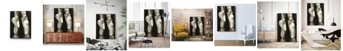 """Giant Art 20"""" x 16"""" Ballet Shoes II Art Block Framed Canvas"""