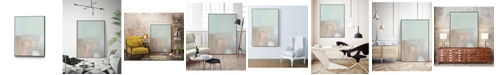 "Giant Art 28"" x 22"" Tide Pools II Art Block Framed Canvas"