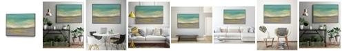 "Giant Art 40"" x 30"" Sunset Study II Art Block Framed Canvas"