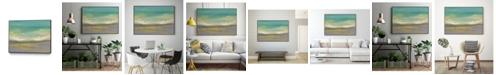 "Giant Art 20"" x 16"" Sunset Study II Art Block Framed Canvas"