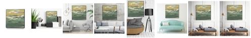 "Giant Art 30"" x 30"" Waters Edge II Art Block Framed Canvas"