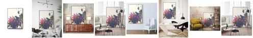 """Giant Art 32"""" x 24"""" Exuberant Splotch Art Block Framed Canvas"""