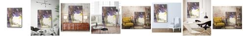 "Giant Art 40"" x 30"" Watery Echo Art Block Framed Canvas"