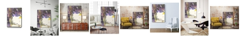 "Giant Art 20"" x 16"" Watery Echo Art Block Framed Canvas"