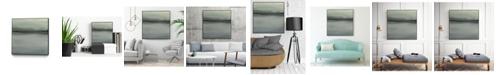 "Giant Art 30"" x 30"" Abstract Horizon VI Art Block Framed Canvas"