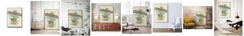 """Giant Art 32"""" x 24"""" Balancing II Art Block Framed Canvas"""