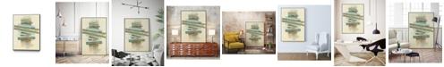 "Giant Art 40"" x 30"" Balancing I Art Block Framed Canvas"