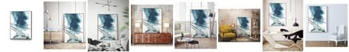 "Giant Art 40"" x 30"" Bella II Art Block Framed Canvas"