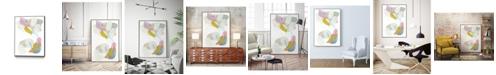 "Giant Art 32"" x 24"" Shift Change III Art Block Framed Canvas"