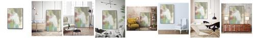 """Giant Art 24"""" x 18"""" Retro Splash I Art Block Framed Canvas"""