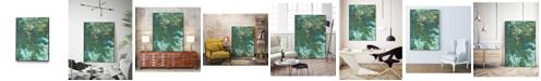 "Giant Art 36"" x 24"" Rambling Sage I Art Block Framed Canvas"