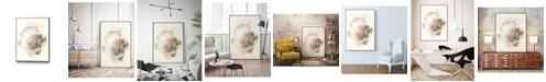 "Giant Art 20"" x 16"" Hyacinth Gesture I Art Block Framed Canvas"