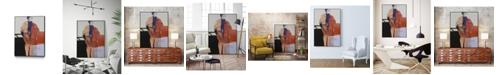 """Giant Art 28"""" x 22"""" Timeless Moment I Art Block Framed Canvas"""