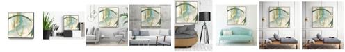 "Giant Art 20"" x 20"" Vertigo Note I Art Block Framed Canvas"