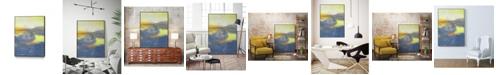 "Giant Art 14"" x 11"" Concord II Art Block Framed Canvas"