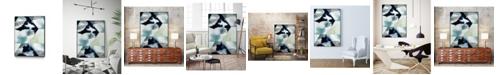 "Giant Art 36"" x 24"" Billow I Art Block Framed Canvas"