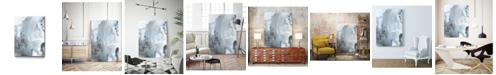 """Giant Art 36"""" x 24"""" Mint Bubbles III Version Museum Mounted Canvas Print"""
