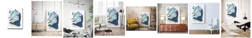 "Giant Art 28"" x 22"" Collage III Museum Mounted Canvas Print"