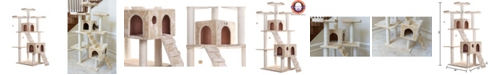 Armarkat Multi-Level Cat Tree Large Cat Play Furniture with Sratchhing Posts, Large Playforms