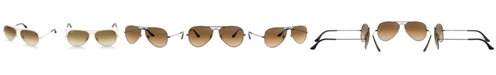Ray-Ban Sunglasses, RB3025 AVIATOR GRADIENT