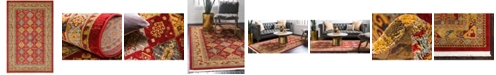 "Bridgeport Home Harik Har2 Red 10' 6"" x 16' 5"" Area Rug"