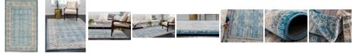 """Bridgeport Home Bellmere Bel1 Light Blue 3' 3"""" x 5' 3"""" Area Rug"""