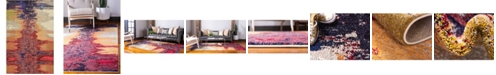 "Bridgeport Home Newwolf New2 Pink 10' 6"" x 16' 5"" Area Rug"