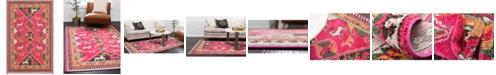 Bridgeport Home CLOSEOUT! Arcata Arc7 Pink 5' x 8' Area Rug