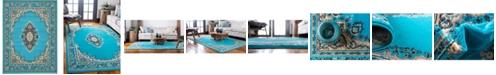 Bridgeport Home Birsu Bir1 Turquoise 9' x 12' Area Rug