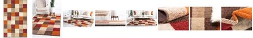 Bridgeport Home Jasia Jas01 Multi 5' x 8' Area Rug